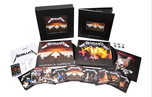 Master Of Puppets (Remastered Deluxe Boxset)(10CD/2DVD/3LP/1Cassette) by Blackened (Image #1)