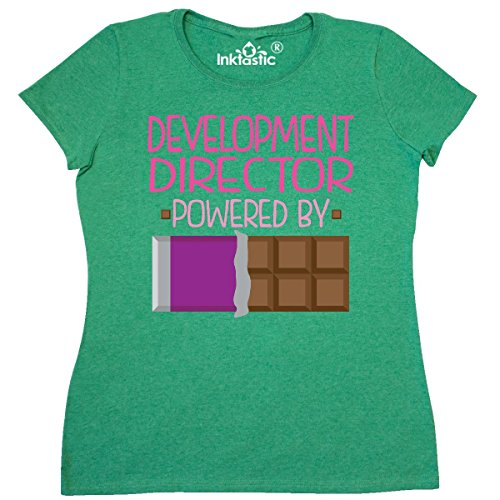 Inktastic   Development Director Womens T Shirt Xx Large Retro Heather Green