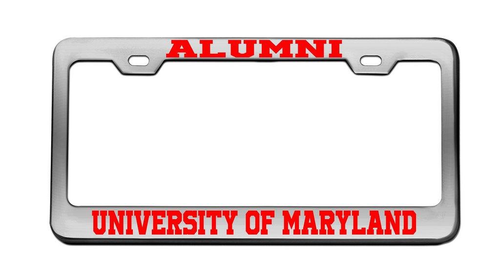 Amazon.com: ALUMNI UNIVERSITY OF MARYLAND University Chrome License ...