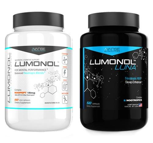 1 Bottle Lumonol + 1 Bottle Luna (120ct) 1 Month Supply by Lumonol