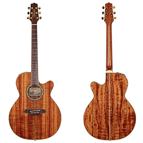 Takamine Pro Series EF508KC NEX All Koa Acoustic Electric Gu