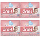 Dreft Baby Original Scent Powder Laundry Detergent,Recommended by Pampers, 40 Loads, 53 oz (Pack of 4)