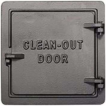 United States Stove Chimney Cleanout Doors 8 in x 8 in.