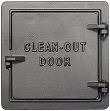 U S STOVE COD8 8 Chimney Clean Out Door 8 Inch Standard Plumbing Supply