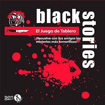 Black Stories Mesa Juego de Tablero, Multicolor (Gen X Games GENBS34): Amazon.es: Juguetes y juegos