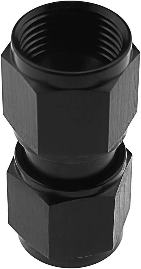 AN8 Gewinde Kupplung Aluminium eloxiert AN8 Union Connector Kraftstoffschlauch Fitting-Adapter weiblich auf weiblich
