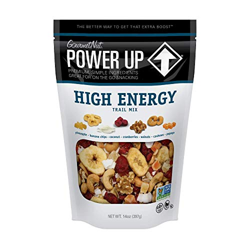 Power Up Trail Mix, High Energy Trail Mix, Keto-Friendly, Paleo-Friendly, Non-GMO, Vegan, GlutenFree, No Artificial Ingredients, Gourmet Nut, 14 oz Bag 1