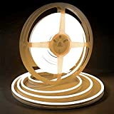Warm White LED Light Strip, Lamomo 3000K Flexible White Neon Light Premium High