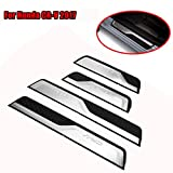 honda accord trim - Boyiya 4PCS Stainless Steel Door Sill Trim Protectors Guard For Honda CRV 2017