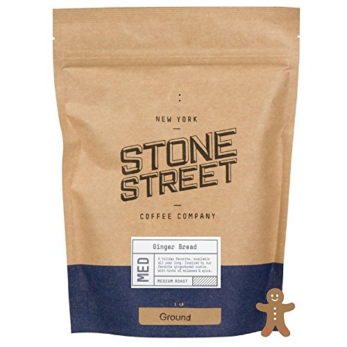 (GOURMET HOLIDAY GINGERBREAD Flavored Ground Coffee | 1 LB Bag | Freshly Roasted 100% Colombian Arabica & Festive Ginger & Spice Christmas Cookie Flavo)