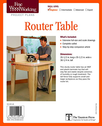 Fine Woodworking's Router Table Plan (Fine Woodworking Project Plans)