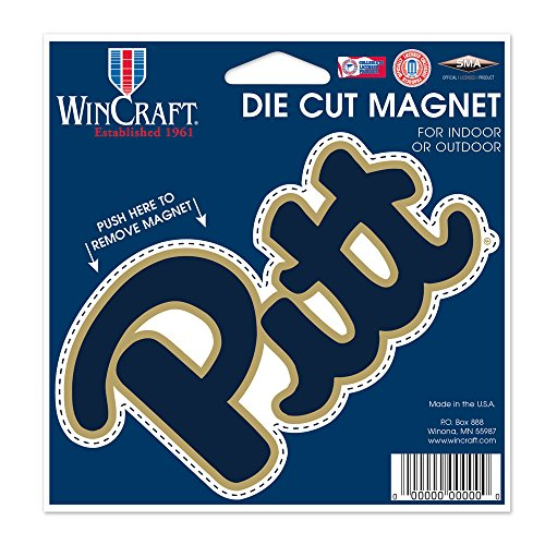 University of Pittsburgh Die Cut Magnet 4.5'' x 6'' by WinCraft