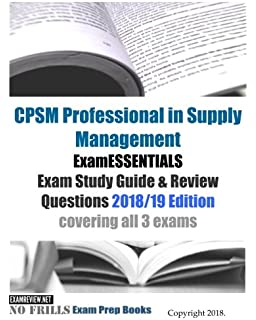 Cpsm study guide: 2nd edition book.