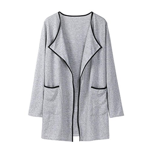 Women Outwear Long Sleeve Knitted Cardigans Casual Coat Tops Outwear by TOPUNDER from TOPUNDER - Apparel