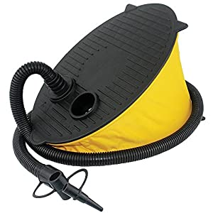 Portable Bellows Foot Air Pump, Inflatable Pool Ride-ons Toy Floating Swim Ring Balloon Exercise Yoga Ball Raft Fish Tank Mattress Bed Pillow Boat Sofa Tire Easy Air Hand Foot Pump Compressor Inflator