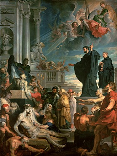 Berkin Arts Peter Paul Rubens Giclee Art Paper Print Art Works Paintings Poster Reproduction(The Miracles of St. Francis Xavier)
