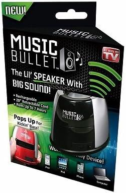 As Seen On TV MUBLT12 Rechargeable Popup Speaker