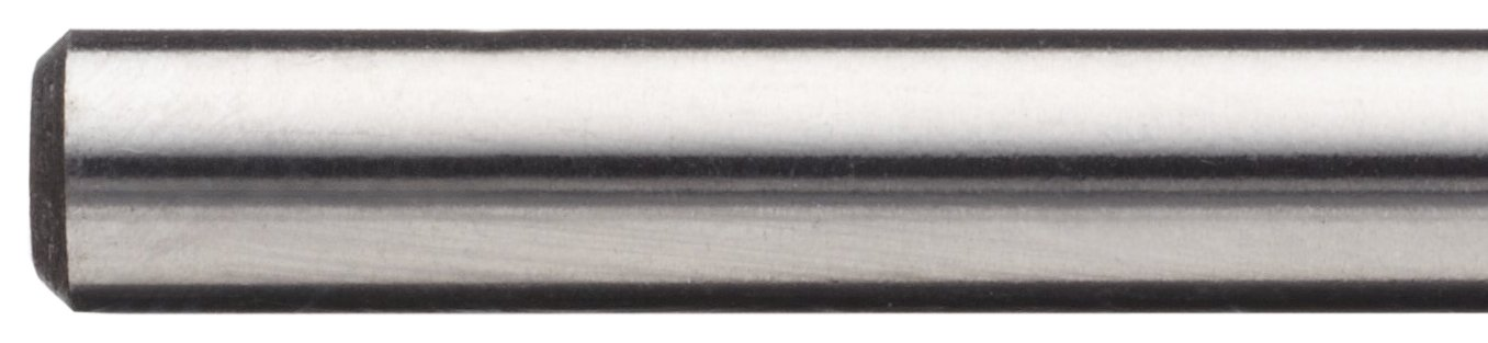 135 Degree Notch Point 7//16 TiN Coated Round Shank Wide Land Parabolic Flute Cleveland 2575T Cobalt Steel Jobbers Length Drill Bit Pack of 1