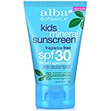 ALBA BOTANICA, Mineral Sunscreen Kids SPF 30 - 4 oz - (Pack of 2)