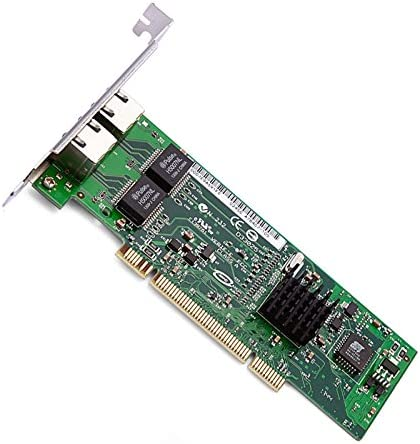 JXSZ PCI 32bit Dual-Port Gigabit Ethernet 8492MT Intel82546 10//100//1000Mbps RJ45 Server Card with Low Bracket