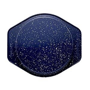 Paula Deen Speckle Bakeware 9-Inch Round Cake Pan, Deep Sea Blue Speckle