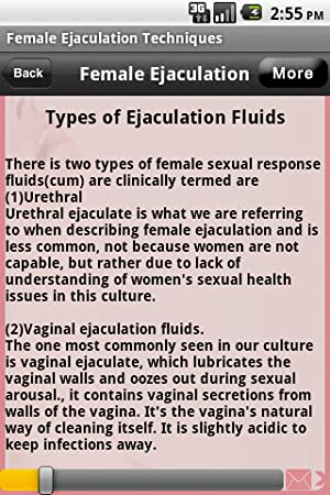 what is women ejaculation