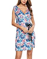 ANGVNS Women's Casual Floral Sleeveless...