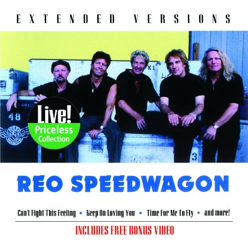 CD : REO Speedwagon - REO Speedwagon : Extended Versions (CD)