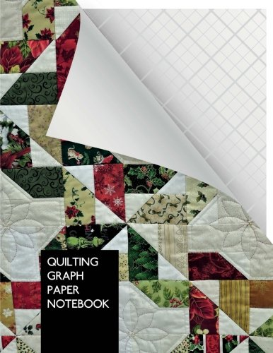 Quilting Graph Paper Notebook: Quilting Design Journal | 3 lines per inch | 100 pages | Letter Format 8.5