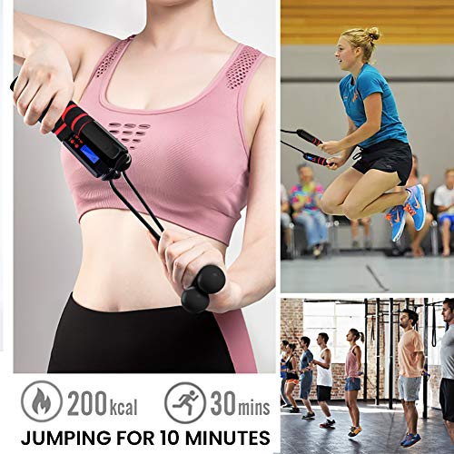 Wireless Cordless Jumping Rope for Cardio Fitness