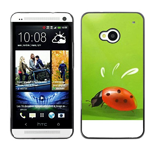 Soft Silicone Rubber Case Hard Cover Protective Accessory Compatible with HTC ONE M7 2013 - Plant Nature Forrest Flower 10