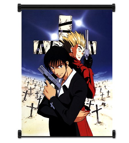 ActRaise Trigun Anime Fabric Wall Scroll Poster (16