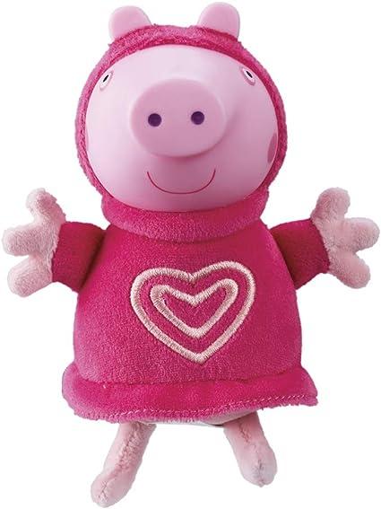 "Glow Friends Peppa 6/"" Soft Toys Peppa Pig /& George"