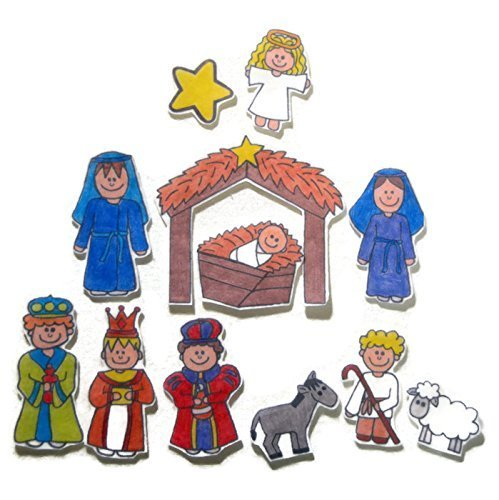 Nativity Felt Board Story (Nativity Felt)