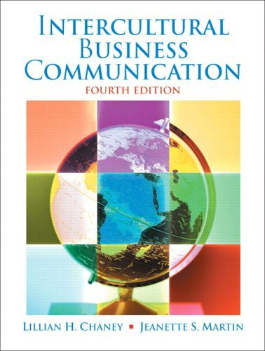 Intercultural Business Communication: 4th (fourth) edition PDF