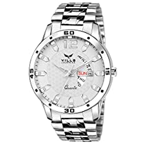 Vills Laurrens VL-1049 White Day And Date Series Watch