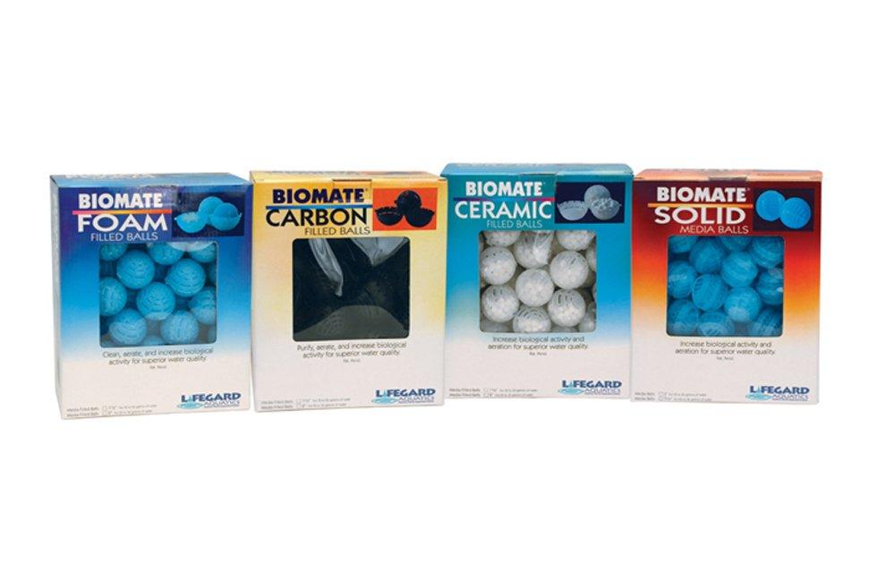 Lifegard R440302 Aquatics Solids Bio-Mate Refillable Media Balls, 1''
