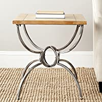 Safavieh American Homes Collection Alvin Natural Color End Table