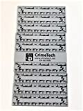 Forensic Photo Scales/Rulers, Gray, Pack of 10 Each