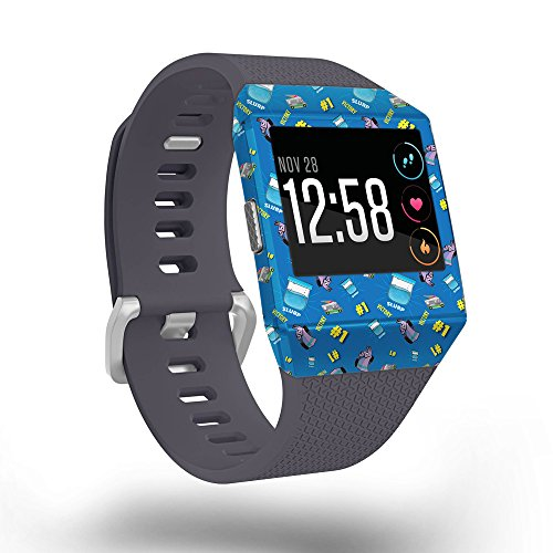 Leaf Pattern Mission (MightySkins Skin For Fitbit Ionic - Victory Slurp | Protective, Durable, and Unique Vinyl Decal wrap cover | Easy To Apply, Remove, and Change Styles | Made in the USA)