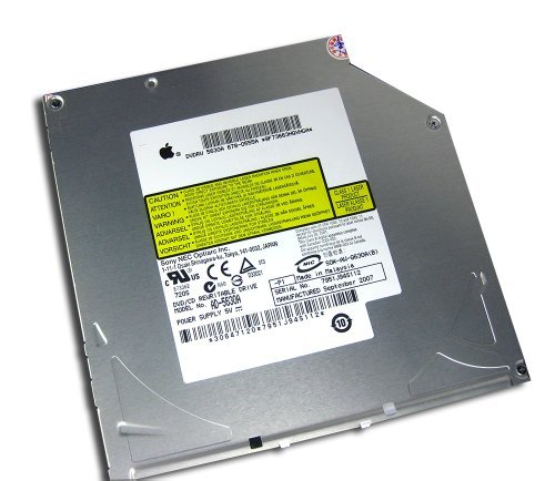 New 12.7mm IDE PATA Slot-in 8X DVD-R Double-layer DVD-RW Burner SuperDrive Optical Drive Replacement for Apple iBook G4 PowerBook G5 iMac iMac 20'' A1145 24'' A1225 Mac Mini A1176 by Sony