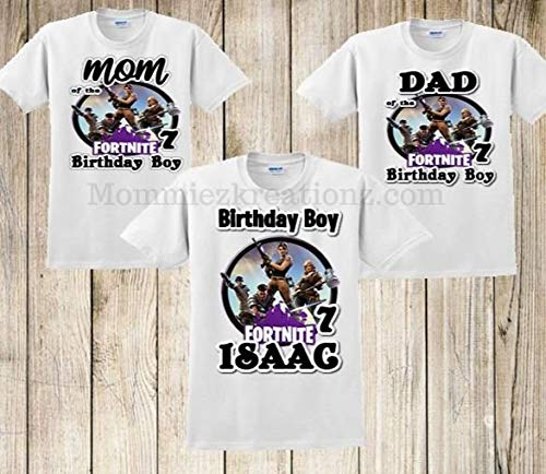 Fortnite Birthday Shirt, Fortnite Family Shirts, Fortnite Birthday