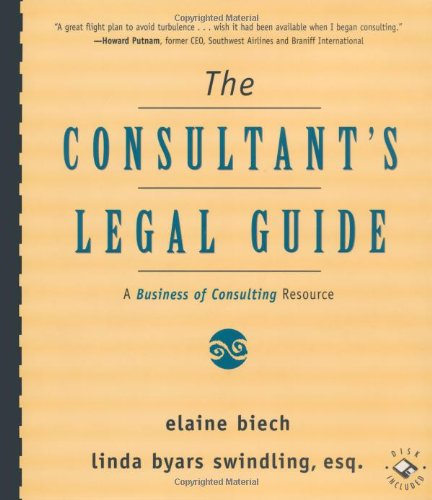 The Consultants Legal Guide  A Business Of Consulting Resource