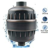 Beymill Universal Water Filter,Aquatheory Shower Filter to Remove Chlorine and Flouride and Lead,Water Softener for Hard Water,Easy Installation