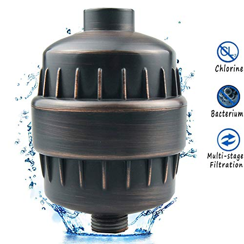 Beymill Universal Water Filter,Aquatheory Shower Filter to Remove Chlorine and Flouride and Lead,Water Softener for Hard Water,Easy Installation - Shower Water Filter System