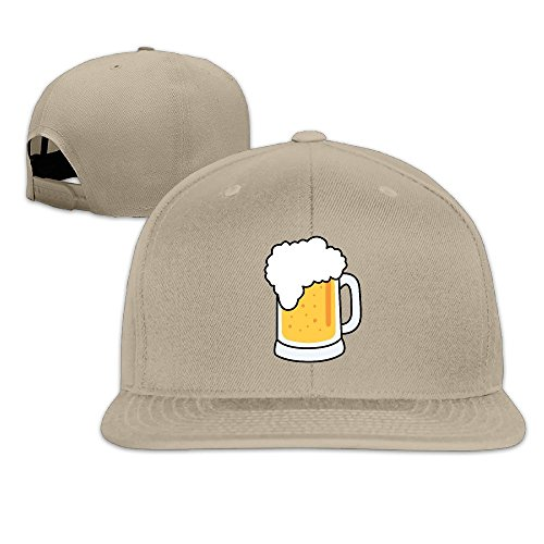 xssyz-i-love-beer-flat-bill-snapback-baseball-cap-natural