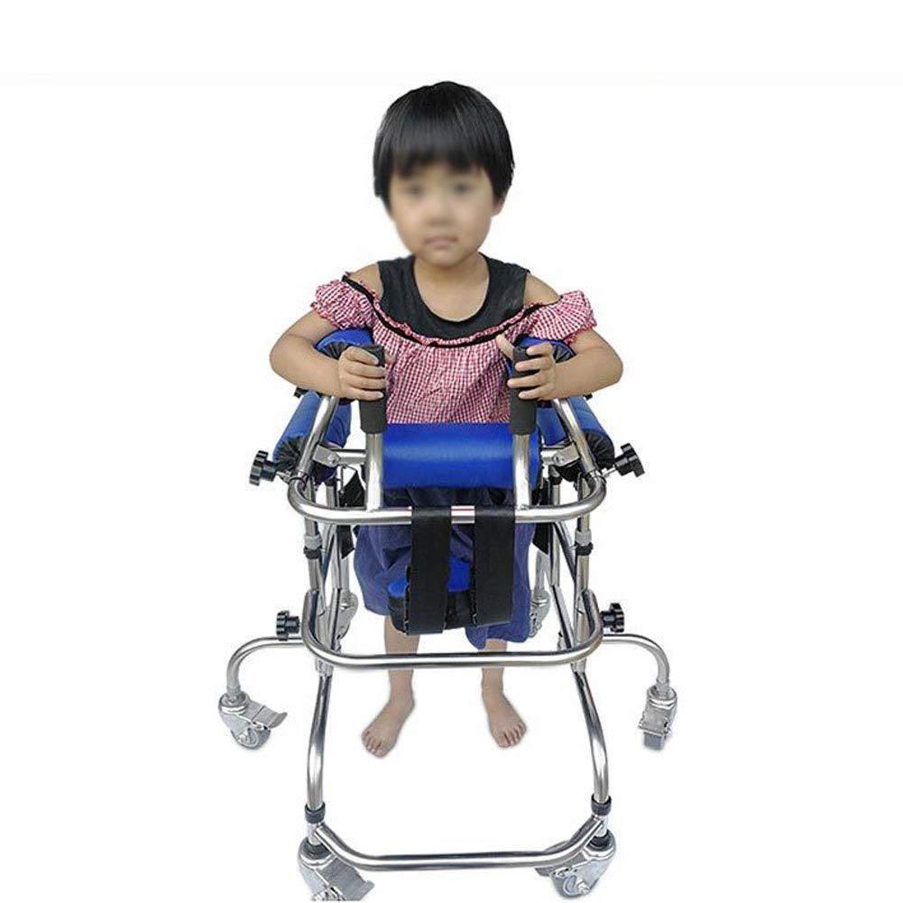 Children'S Lower Limb Training and Rehabilitation Equipment/Standing Walking Aid/Seat Wheel Rehabilitation Device Disabled Scooter Passage by JLVNA