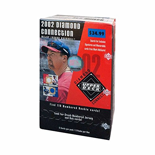2002 Upper Deck Diamond Collection Baseball 5ct Blaster Box