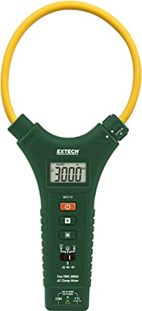 Extech MA3110 Cat IV True RMS 3000A AC Flexible Clamp Meter