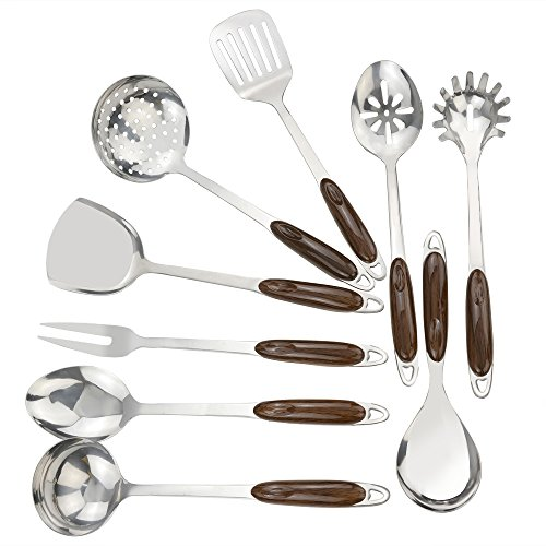 Cand 9-Piece Stainless Steel Kitchen Utensil